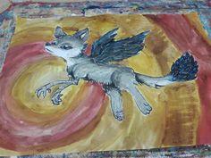 #Wolf #RAVEN #mix #Animal #animals #vyv
