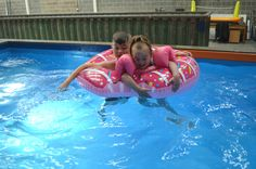 Shipping Container Swimming Pool, Swimming Classes, Swim Lessons, Coaches, Swimming Pools, Teaching, Warehouse, Hands, Create