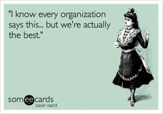 """I know every organization says this... but we're actually the best."" #sorority #greek"