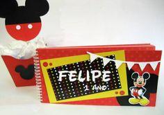 Festa do Mickey, temos várias opções! Venha conhecer a Scrap Memory em SP (11) 5181-1707  www.scrapmemory.com.br