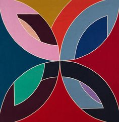Frank Stella | from the Protractor series |