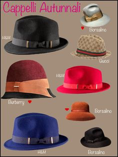Fall season: Hats