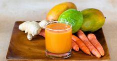 Guava Mango Carrot Juice Recipe   Yummly Breakfast Dessert, Dessert For Dinner, Juice Drinks, Healthy Drinks, Guava Recipes, Ginger Juice, Fresh Ginger, Cold Press Juicer, Guava Juice