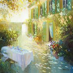 Французский художник Лоран Парселье (Laurent Parcelier)