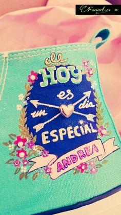 Fanart.es  Zapatillas pintadas a mano/ Andrea www.fanart.es