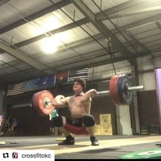 Thanks @crossfitokc #Repost @crossfitokc with @repostapp  Need something to do tomorrow night? Come watch coach Lee (@savorydeluxe) lift in his quest to qualify for Nationals! Lee's session kicks off at 5:30PM at CrossFit Landrush (@crossfitlandrush). Good luck Lee! #CFOKC #OlympicLifting
