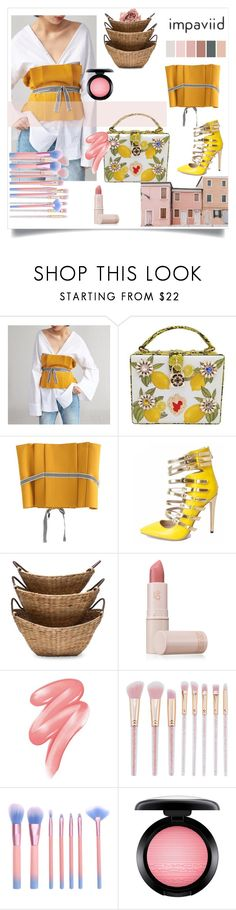 """""""Impaviid 6-20"""" by amra-2-2 ❤ liked on Polyvore featuring Lipstick Queen, Clinique and MAC Cosmetics"""