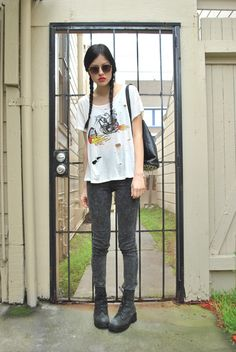 Izumi from HYBRID HUNTER in the Ride or Die Tee