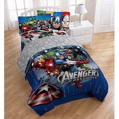 "Marvel Comics Avengers ""Halo"" Twin/Full Bedding Comforter"