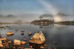 'Fog bow' - David Collins | Rannoch moor