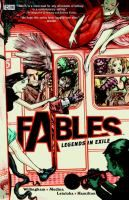 Fables / Bill Willingham. A series of graphic novels about a group of fairy tale characters forced out of their realm who have traveled to modern day New York City to form a secret community. YA/Graphic/Willingham