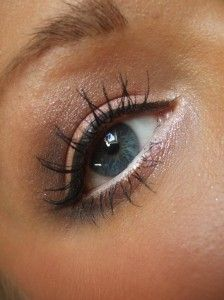 eye makeup .. Simple and natural