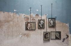 Fotolijsten & Spiegels : Xpose medium fotolijst met ketting metaal