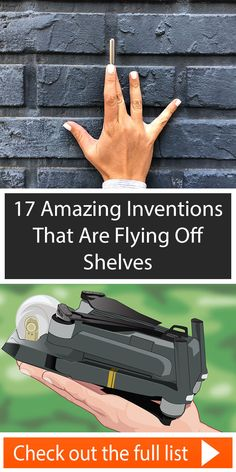 Here are 17 cool problem-solving gadgets and where you can get them. Simple Life Hacks, Useful Life Hacks, Gadgets And Gizmos, Cool Gadgets, Clever Inventions, Things To Buy, Stuff To Buy, Saving Ideas, Cool Tools