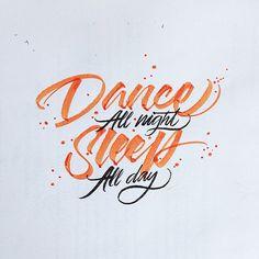 Calligraphy by David Milan