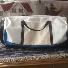 Duffel Bag Recycled SailCloth Tote Gym overnight weekend