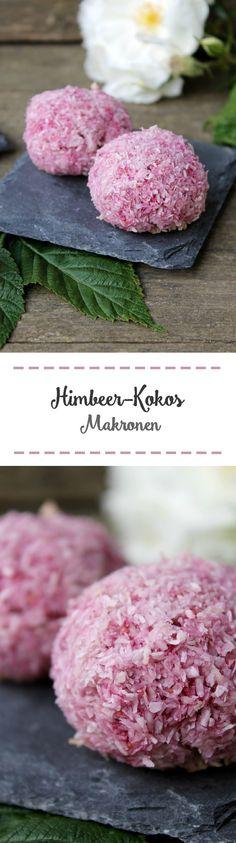 Himbeer-Kokos-Makronen