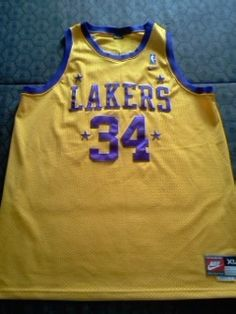 Authentic 1957 Nike Shaquille ONeal Los Angeles Lakers Jersey Size XL  Free shipping with in 12 hours of purchase!!