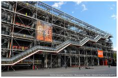 Pompidou Centre – National Museum of Modern Art Georges Pompidou, Renzo Piano, Centre Pompidou, Art Moderne, National Museum, Musée National, Museum Of Modern Art, Twitter, Places To Go