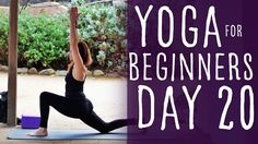 25 Minute Yoga For Beginners 30 Day Challenge Day 20 with Lesley Fightma...