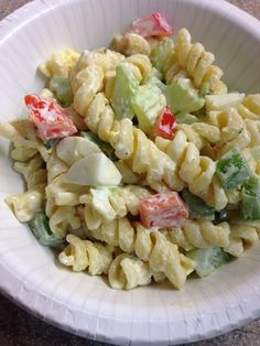 Festive Pasta Salad (S) Mrs Criddles Kitchen