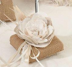 Rustic Wedding Theme | Burlap Wedding Accessories