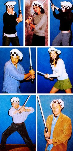 The cast of Firefly as Jedi chefs