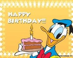 Happy Birthday Disney, Happy Birthday Funny, Happy Birthday Messages, Happy Birthday Images, Birthday Quotes, Birthday Greetings, Birthday Wishes, Birthday Cards, Happy Brithday