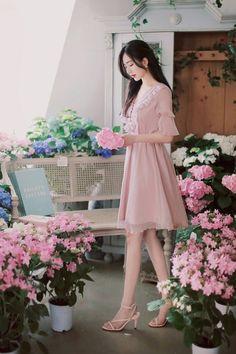 1b334559a97 363 件のおすすめ画像(ボード「気になるワンピース」)【2019】   韓国 ...