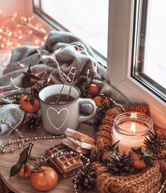 Alwayѕ Aυтυмn🍁 🍁 aesthetic wallpaper Always in autumn mood Cozy Aesthetic, Autumn Aesthetic, Christmas Aesthetic, Photo Deco, Autumn Cozy, Autumn Fall, Autumn Coffee, Autumn Photography, Christmas Mood