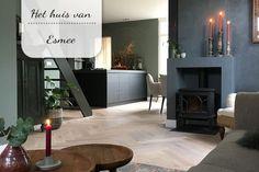 Binnenkijken bij Esmee Dark Interiors, Cosy, Projects To Try, New Homes, Flooring, Living Room, Interior Design, Kitchen, Instagram