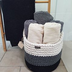 Always nice to see your baskets being in good use! Looks nice @binheredonethat #nordico #crochetbasket #handmade #madeinmelbourne #homewaresmelbourne #madebyme