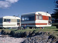 1970s camper trailer | Image by traveltrailersnz, via Flickr |