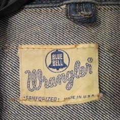 Wrangler clothing