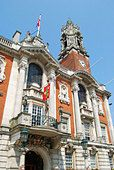 Colchester Town Hall, High Street, Colchester, Essex, England, United Kingdom - Stock Photo