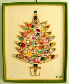 Christmas tree to suggest to Mama for all her loose buttons