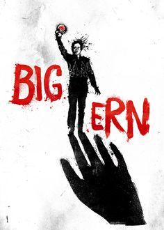 Big Ern ~ Kingpin (1996) ~ Alternative Movie Poster by Daniel Norris