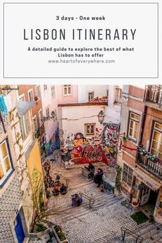I´ve lived in Lisbon for 5 years and I´m committed to share with you the best of what this city has to offer. This Lisbon Itinerary is a detailed guide, full of insider tips, to help you make the best of your time in Lisbon, whether you have 3 days or one Backpacking Europe, Europe Travel Tips, Spain Travel, Travel Destinations, Thailand Travel, Budget Travel, Travel Ideas, Portugal Vacation, Portugal Travel Guide