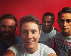 Mata, Herrera, Valencia and Januzaj back at training #MUFC
