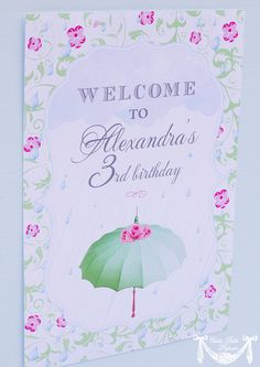 Amy Atlas Featured April Showers Collection by CutiePutti on Etsy, $5.50
