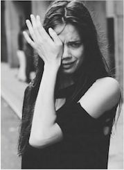 Michael Donovan Fashion Photography - Fotoporträt - Black and white street and portrait photography. Crying Girl, Cat Crying, Crying Face, Face Expressions, Black And White Photography, Portrait Photography, Fashion Photography, Street Photography, In This Moment