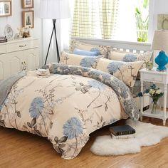 Spring Bedding Set Super King Size Duvet Cover Leopard Bedding 3/4Pcs Bed Set V Pattern Bed Linen Flat Sheet Adult Bed Set 5Size