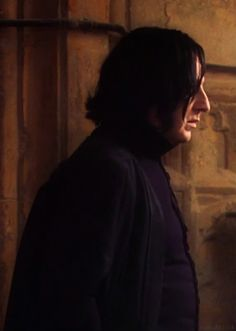 Gorgeous Severus in profile....