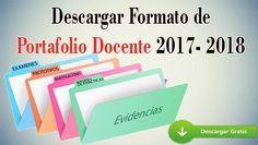 Portafolio para Docentes 2017-2018 - Portal de Educación