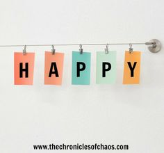 The Chronicles of Chaos: Happy Day of Happiness!