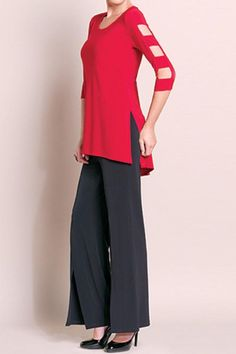 Clara Sunwoo Cut-Out Sleeve Tunic