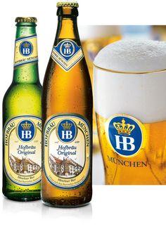 de en our-brews our-range-of-beer hofbraeu-original All Beer, Best Beer, Wine And Liquor, Wine And Beer, German Beer Brands, Paulaner Bier, Different Types Of Beer, American Beer, Beers Of The World