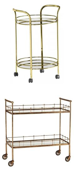 bar carts Bar Trolley, Bar Carts, Bar Cabinets, Tea Cart, Serving Cart, Global Design, Bar Set, Kitchen Cart, Table Furniture
