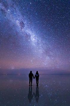 Camina conmigo hacia el infinito