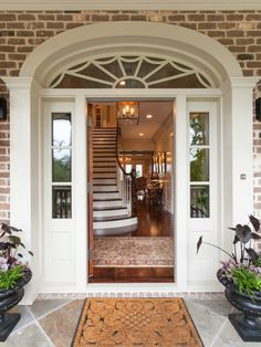 Such a good looking entryway.